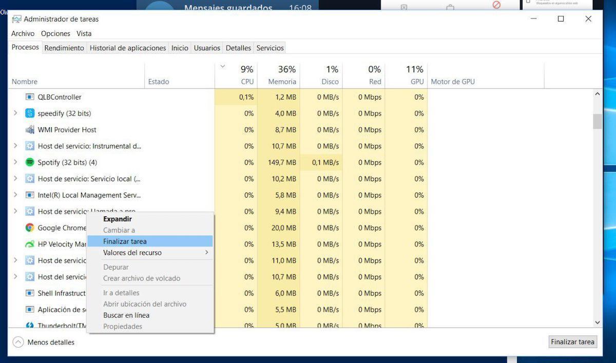 barra de busqueda de windows 10 no encuentra nada