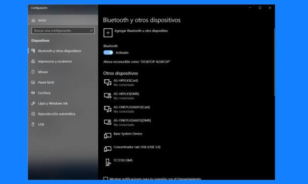 Bluetooth no aparece o no funciona en Windows 10: 3 posibles soluciones