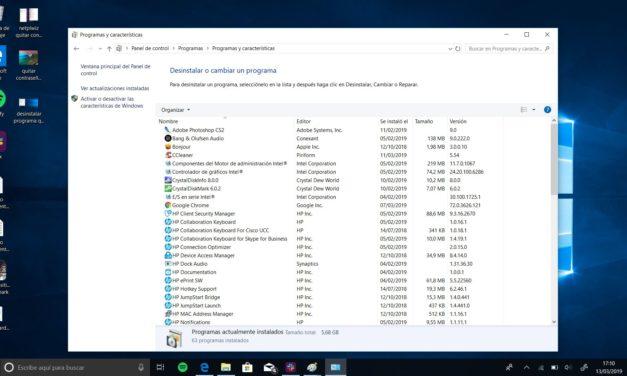 No puedo desinstalar un programa en Windows 10: solución definitiva