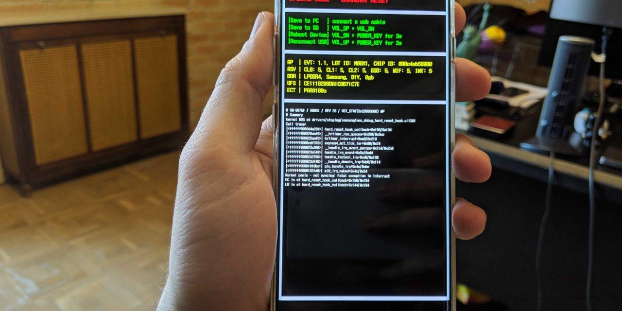 Cómo forzar el reinicio del Samsung Galaxy S10 y Samsung Galaxy S10+