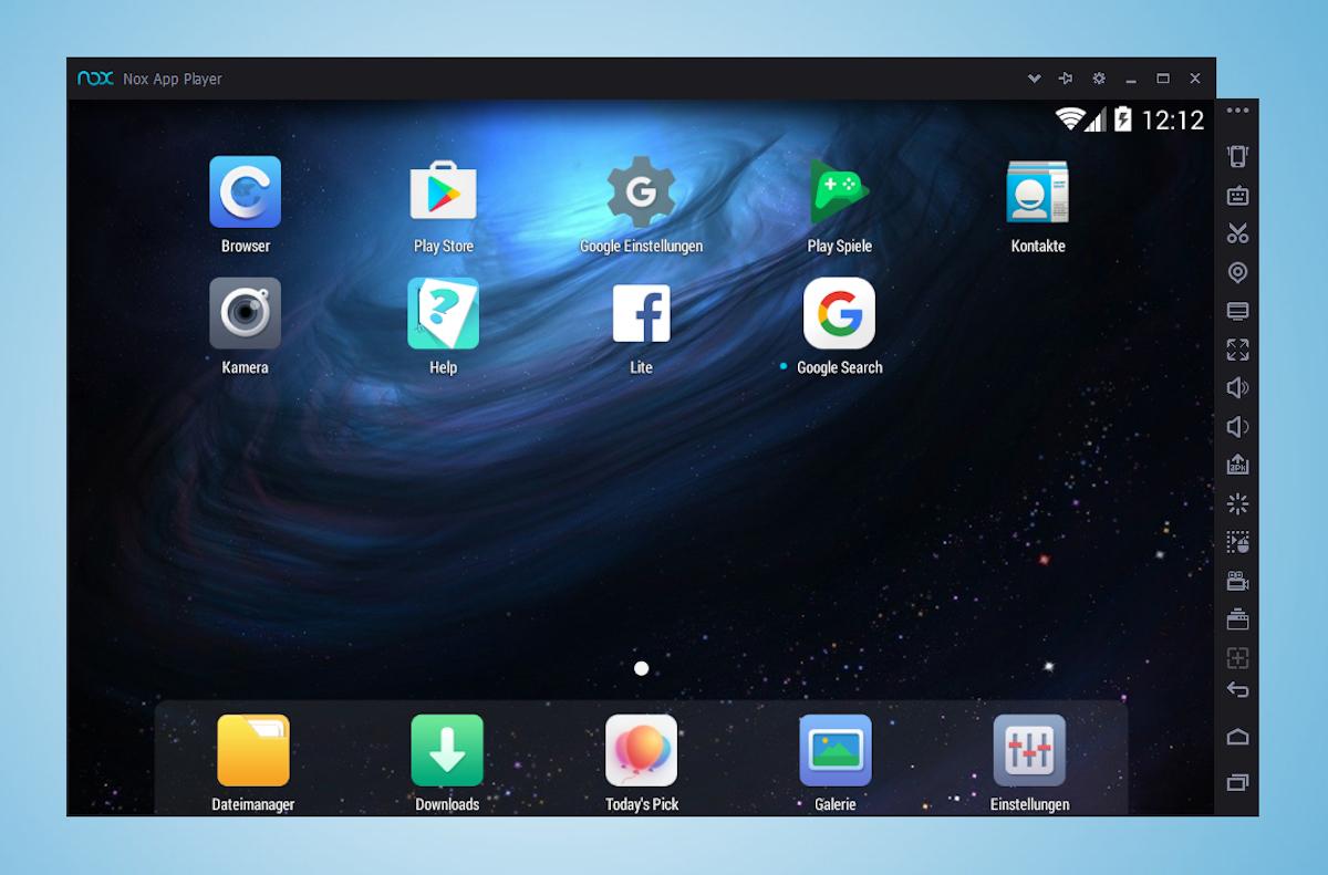 nox app player emulador