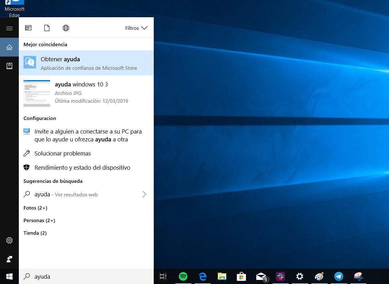 obtener ayuda windows 10