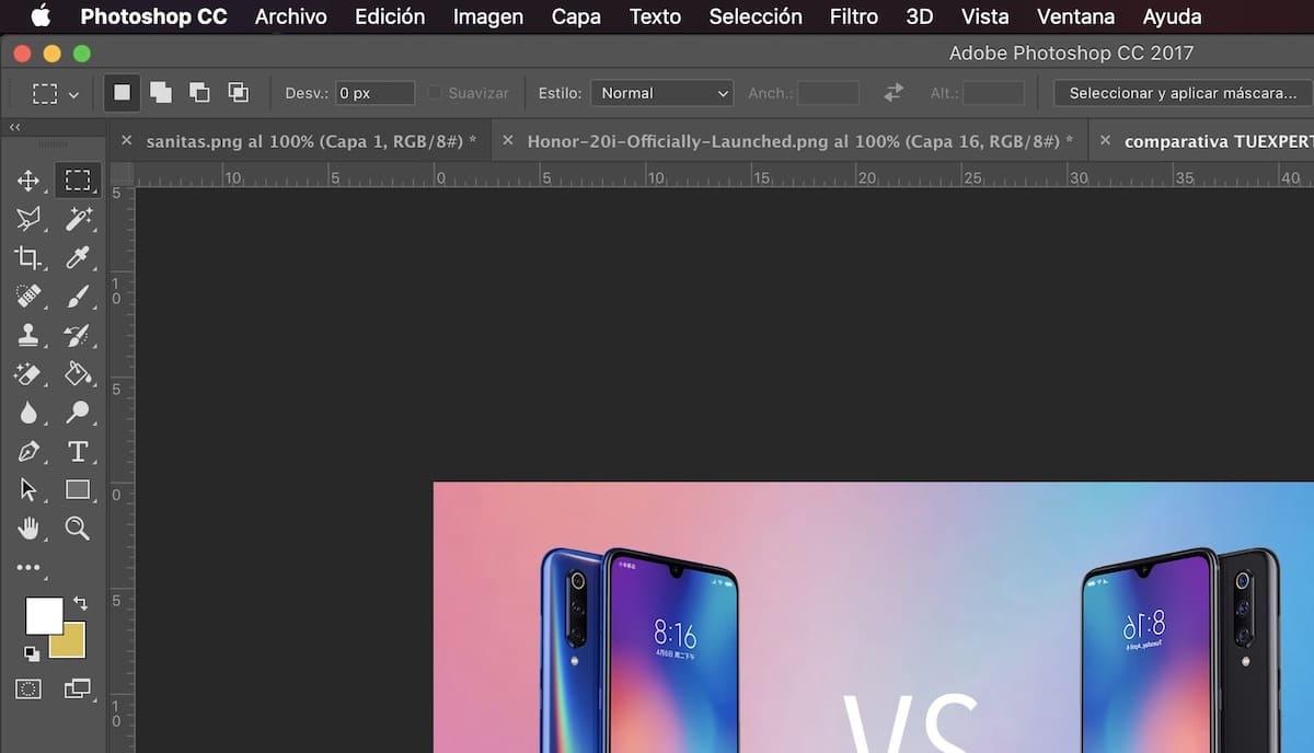 comandos de teclado cobinaciones de teclas photoshop