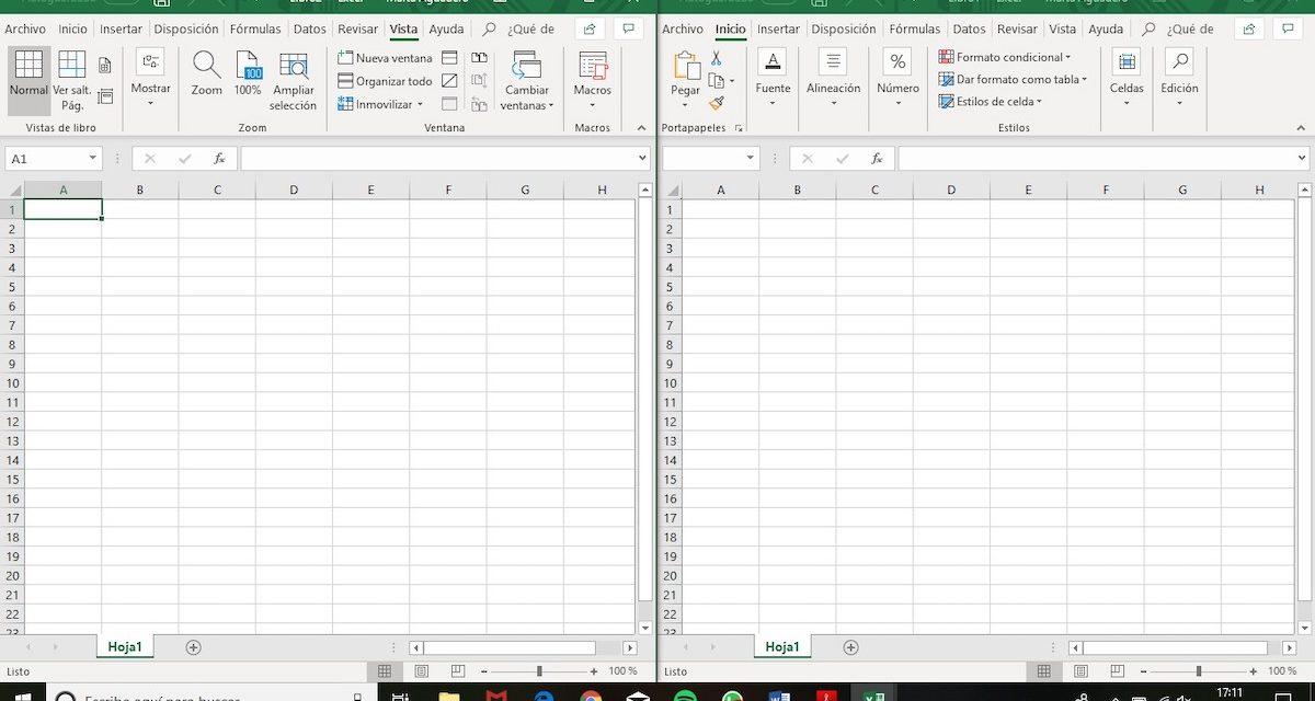 Cómo abrir dos hojas de cálculo de Excel en la misma pantalla