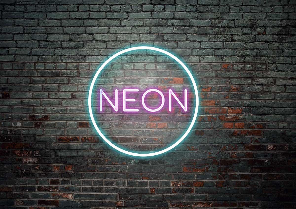 Como hacer efecto luces de neon en Photoshop