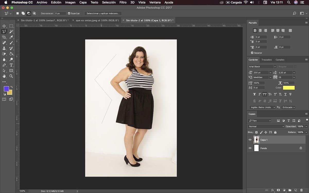 usar photoshop para adelgazar cuerpo 3
