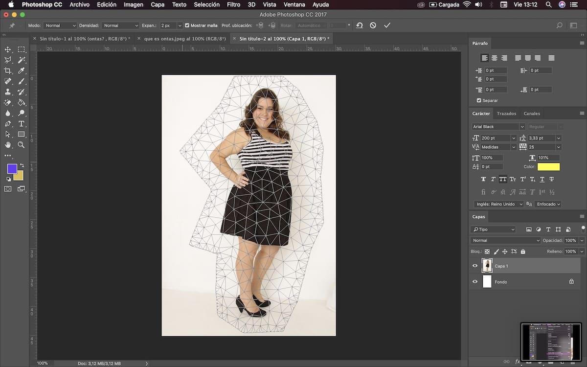 usar photoshop para adelgazar cuerpo 7
