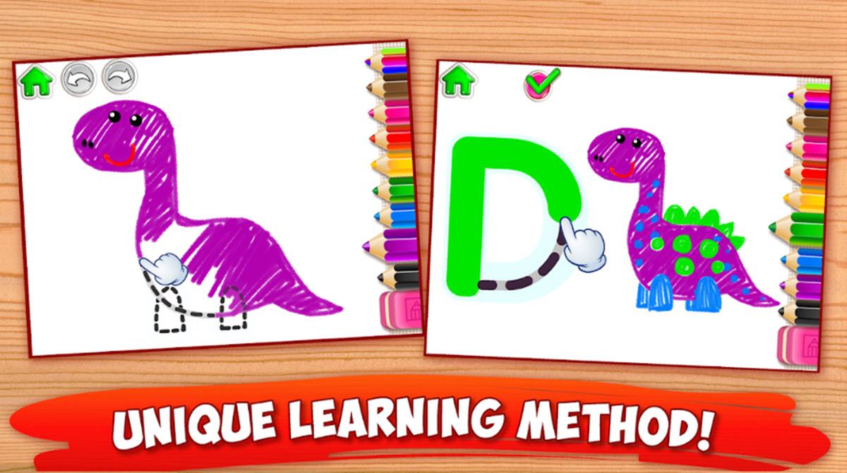 aprender el alfabeto dibujando