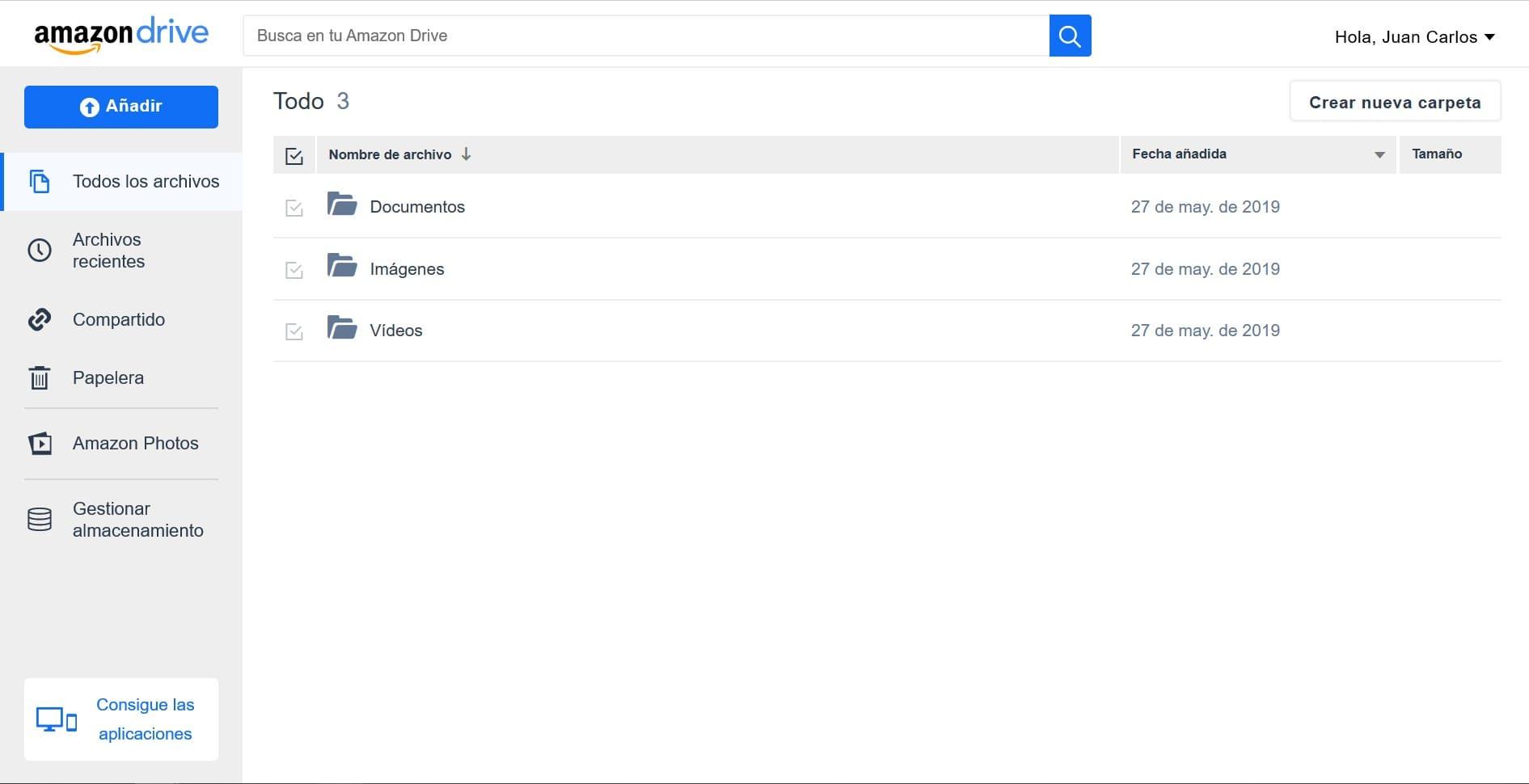 amazon drive alternativa a dropbox