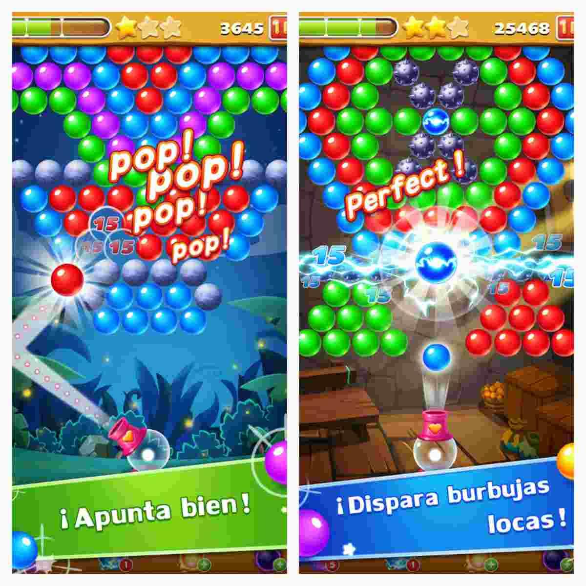 Burbujas locas para Android