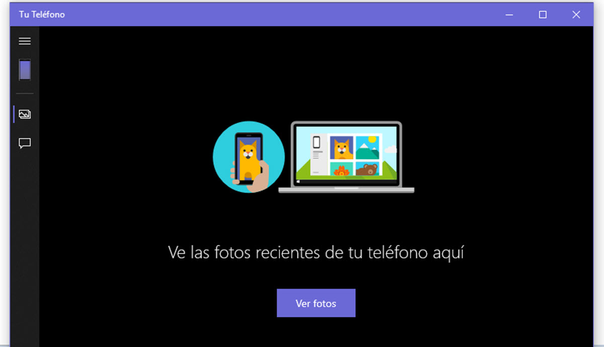 App Teléfono de Microsoft