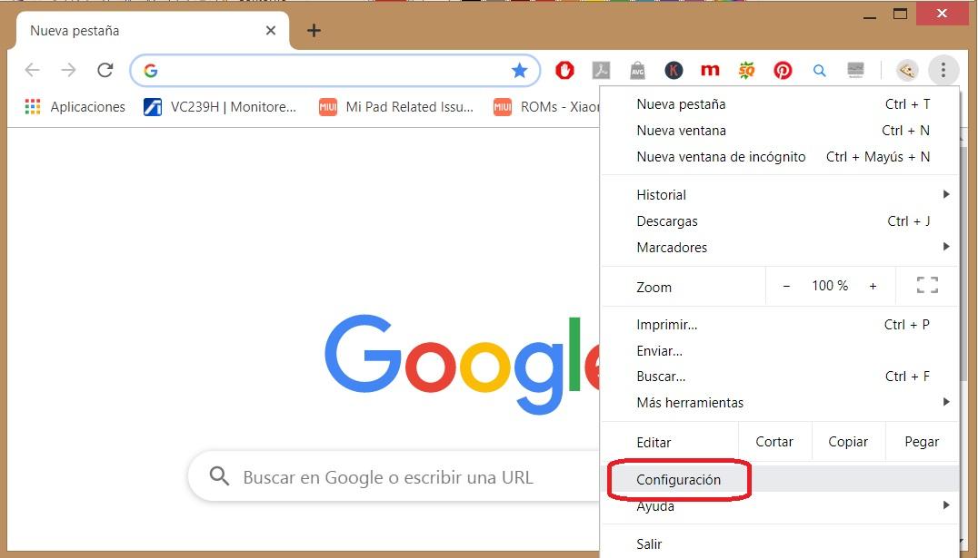 Cómo borrar todos los datos de navegación de Chrome 2