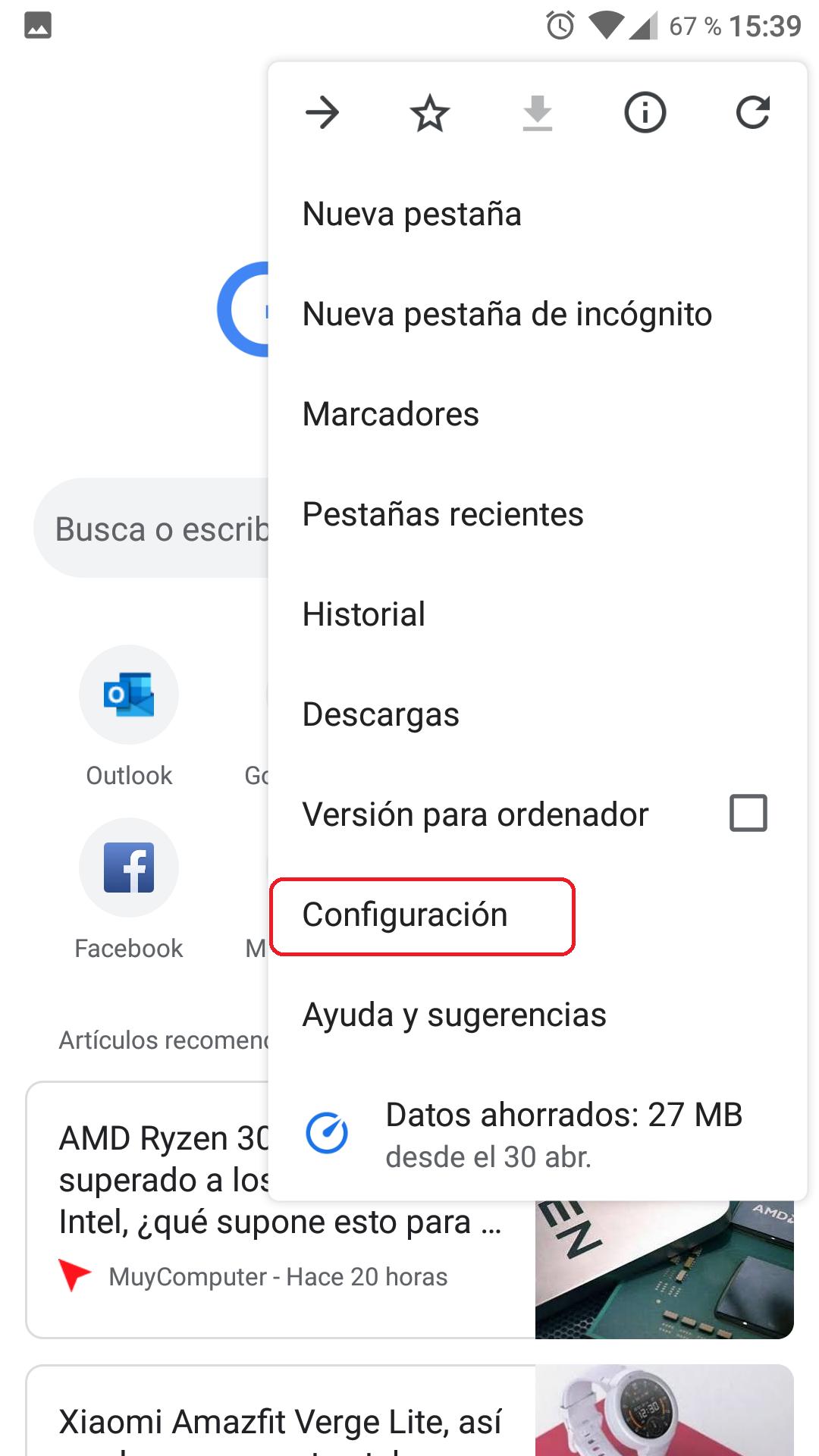 Cómo borrar todos los datos de navegación de Chrome 5