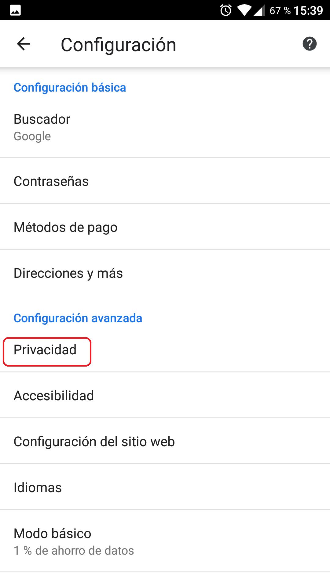 Cómo borrar todos los datos de navegación de Chrome 6