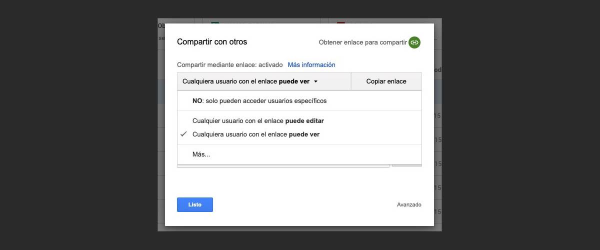 compartir archivos carpetas google drive 2 copia