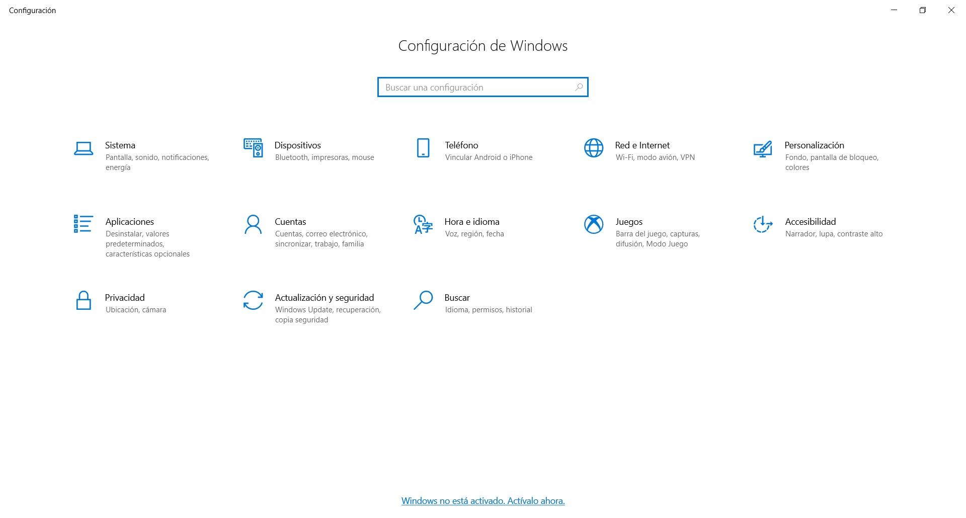 desactivar programas windows 10