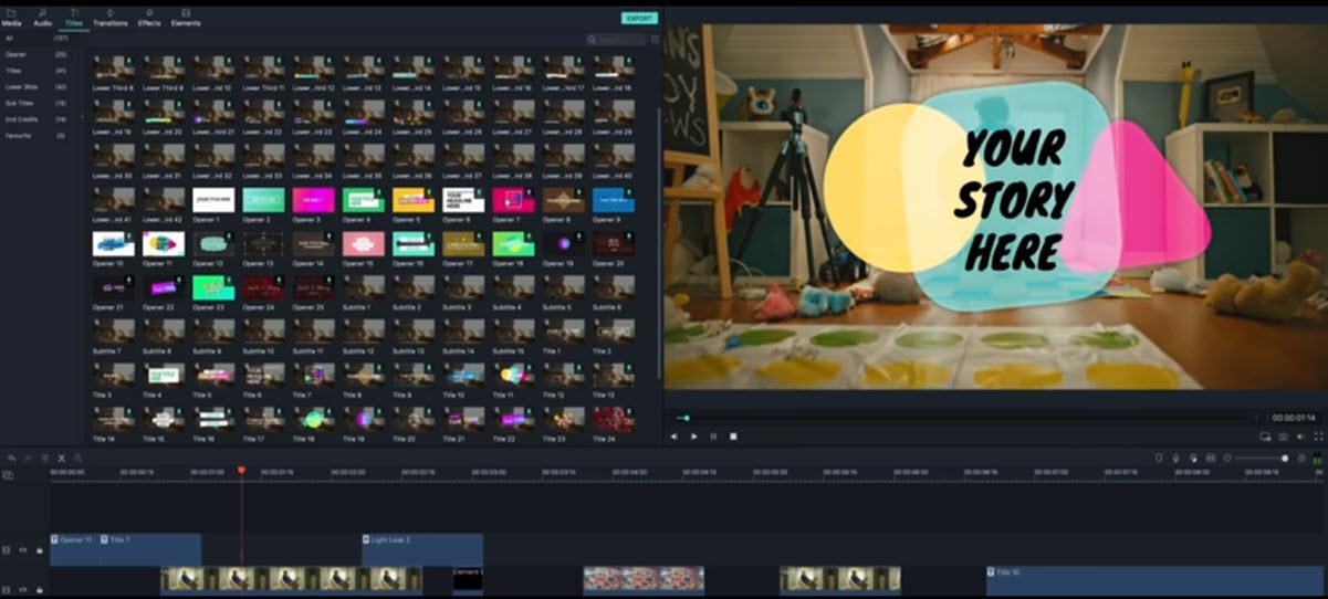 Filmora mejora sonido de video