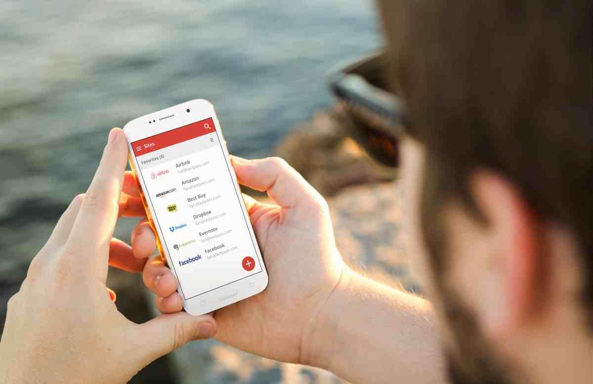Gestionar contraseñas en Android
