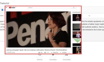 Cómo traducir vídeos de YouTube usando Google Traductor