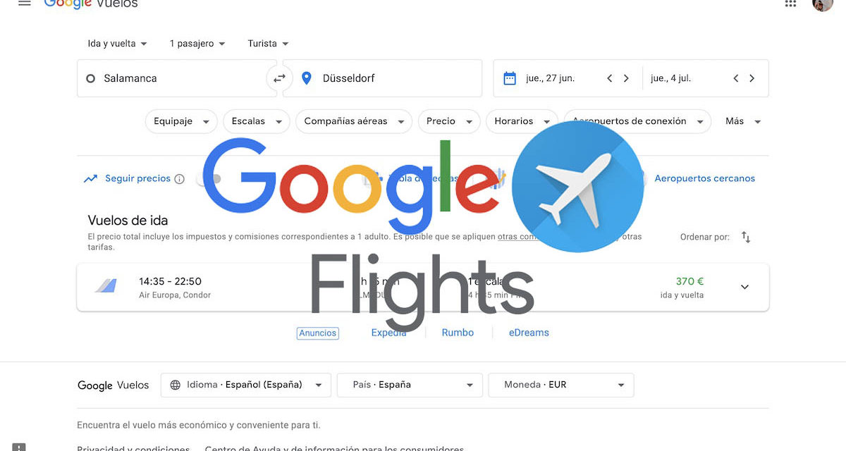 5 alternativas a Google Flights para comprar billetes de vuelos baratos