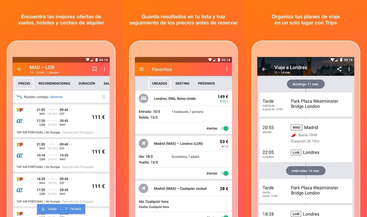kayak alternativa google flights