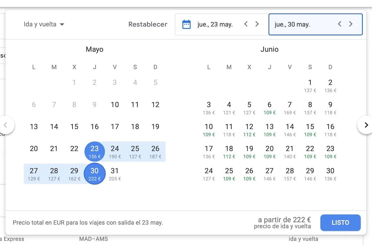 mejores trucos google flights vuelos baratos 1