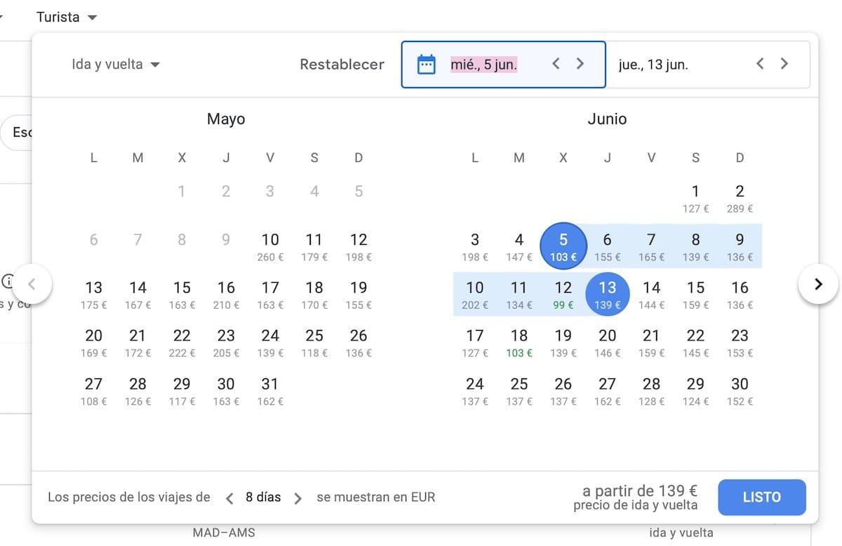 mejores trucos google flights vuelos baratos 2
