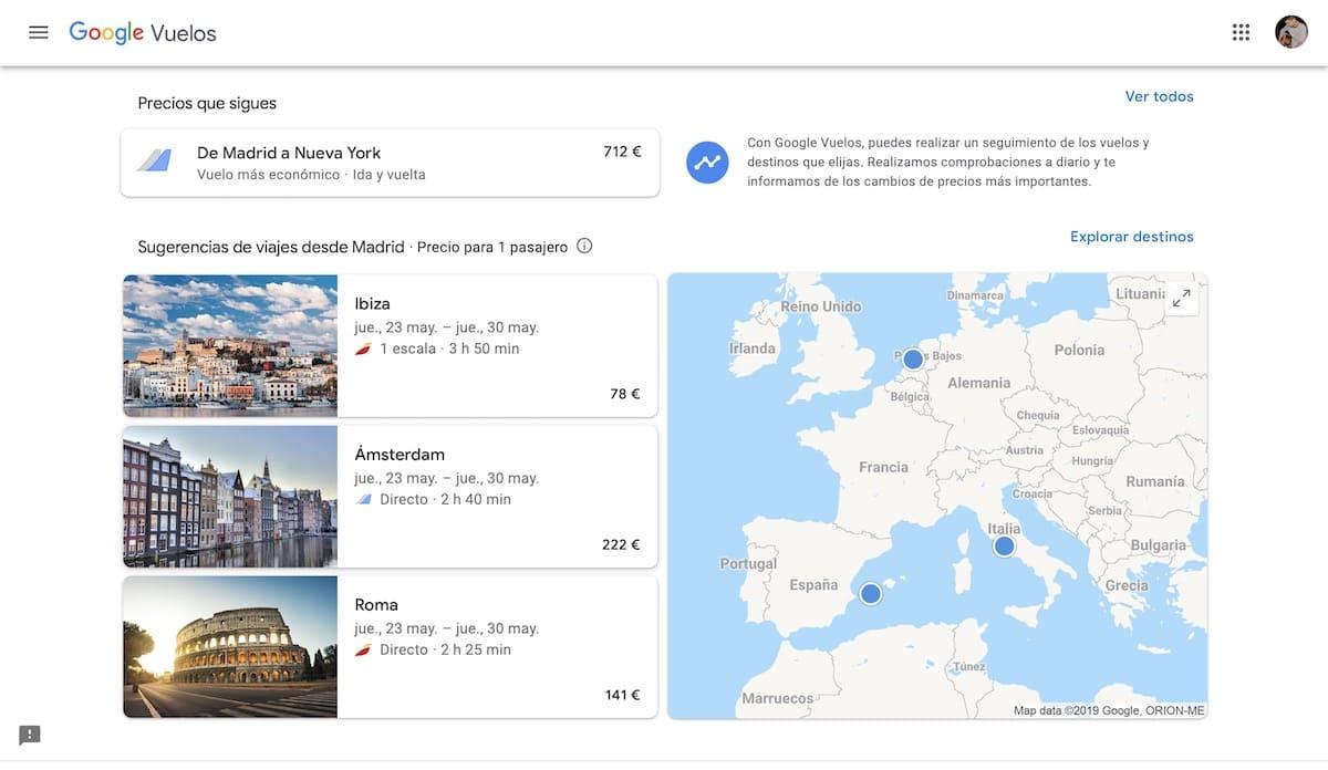 mejores trucos google flights vuelos baratos 5