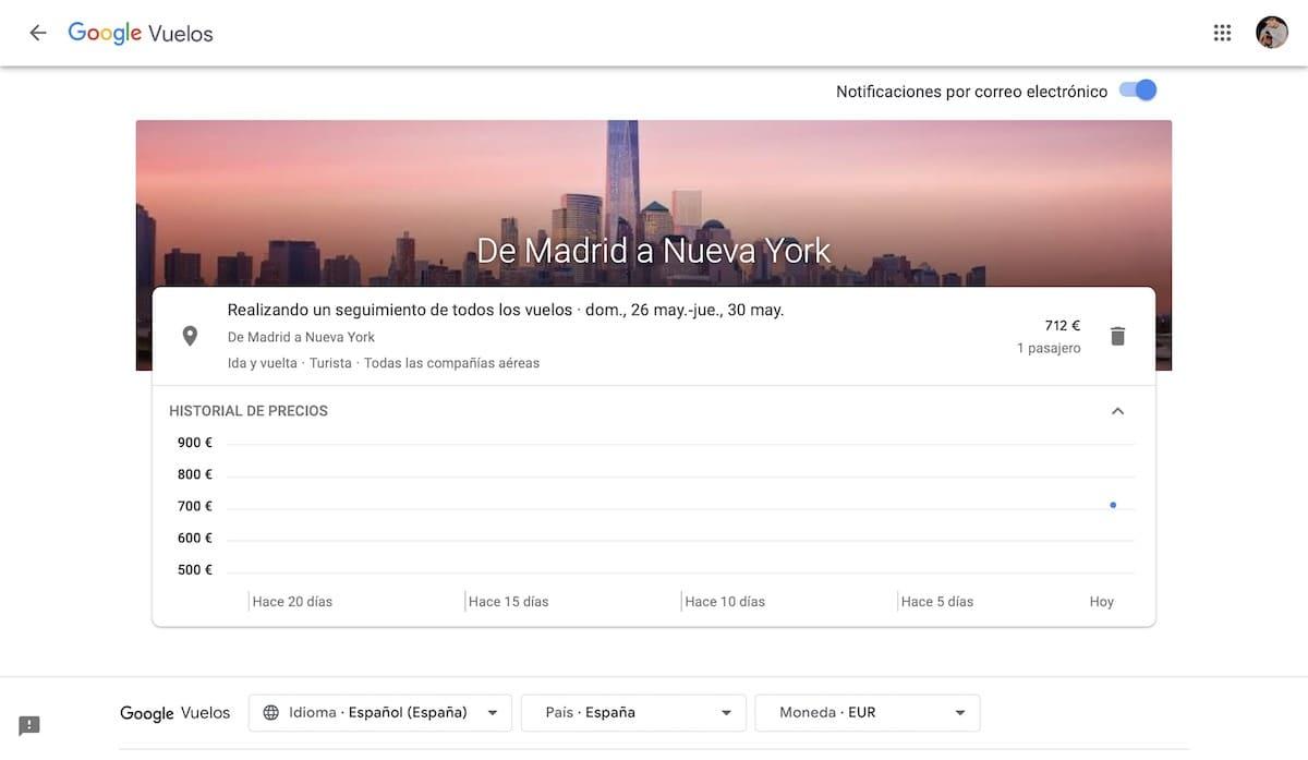 mejores trucos google flights vuelos baratos 9