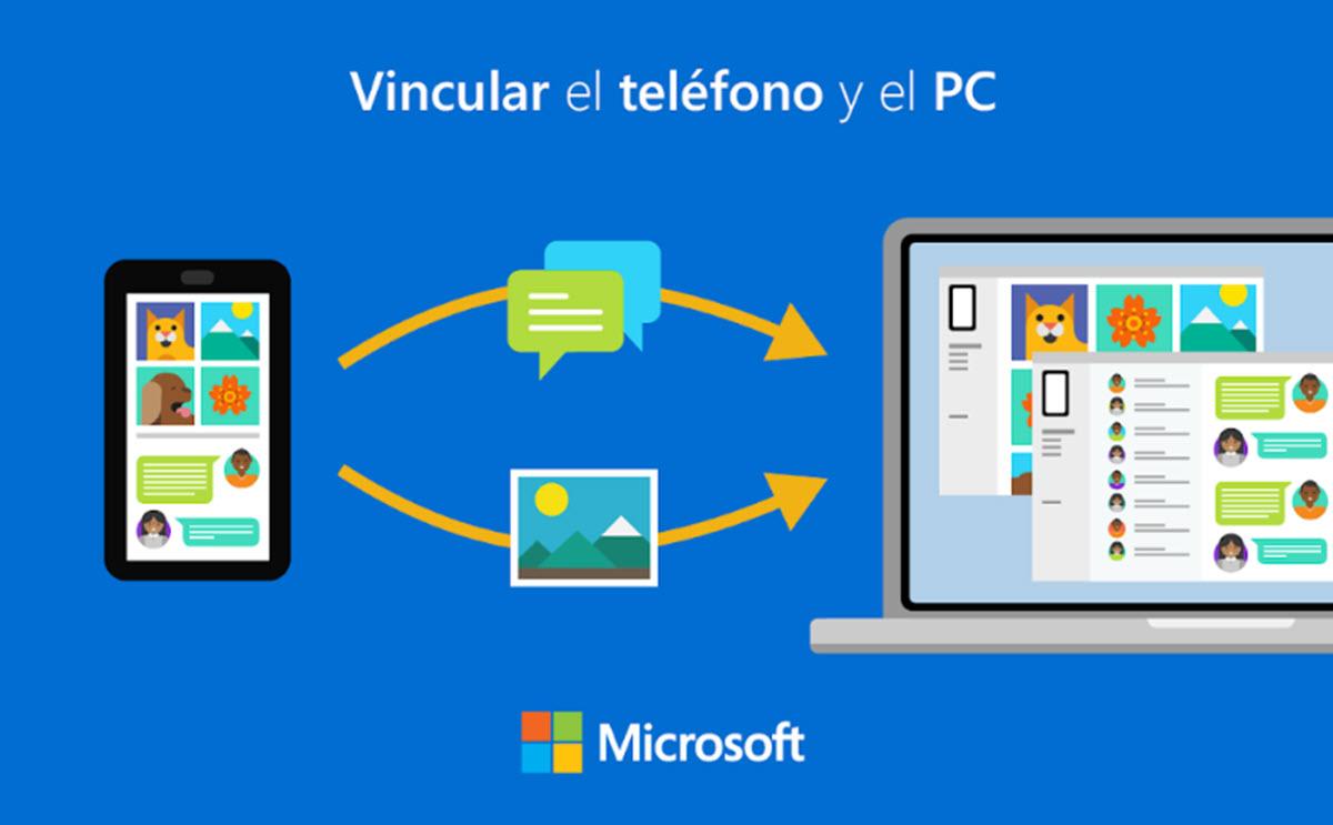 Vincular móvil al PC
