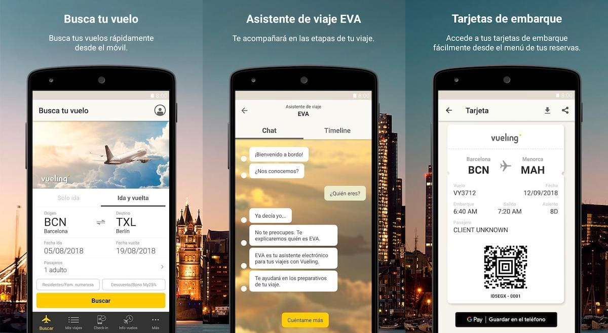 vueling alternativa google vuelos