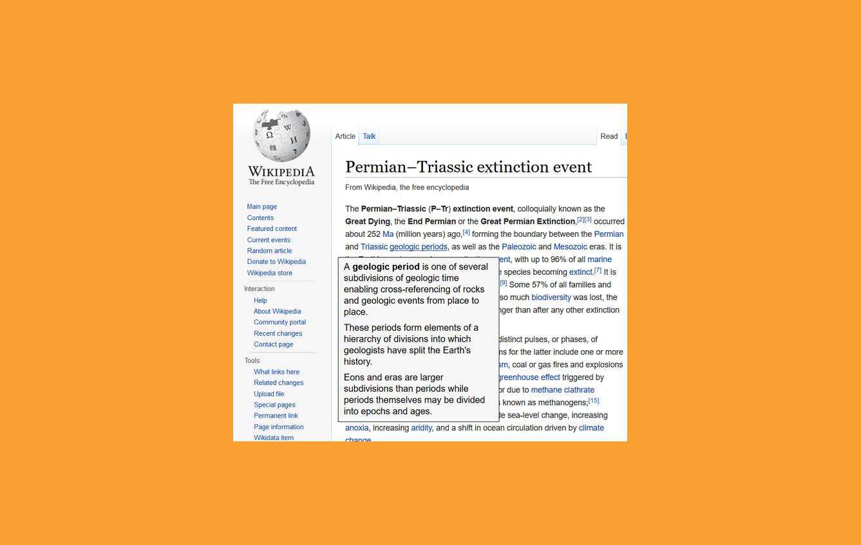 wikipedia peek mejores complementos firefox