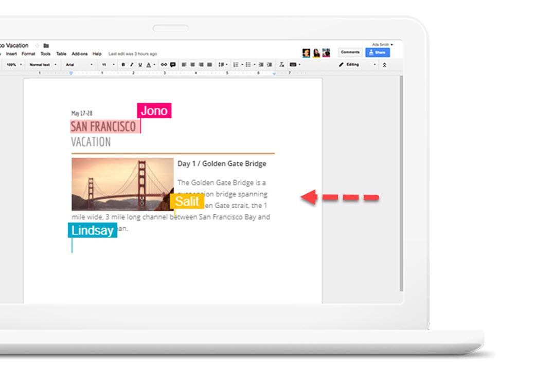 Google Drive cambios en tiempo real