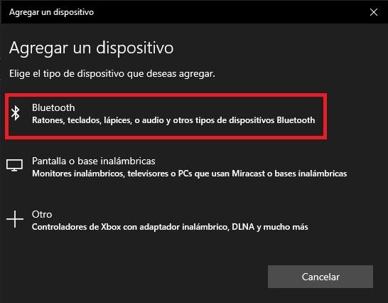 Como activar el Bluetooth en Windows 10 06