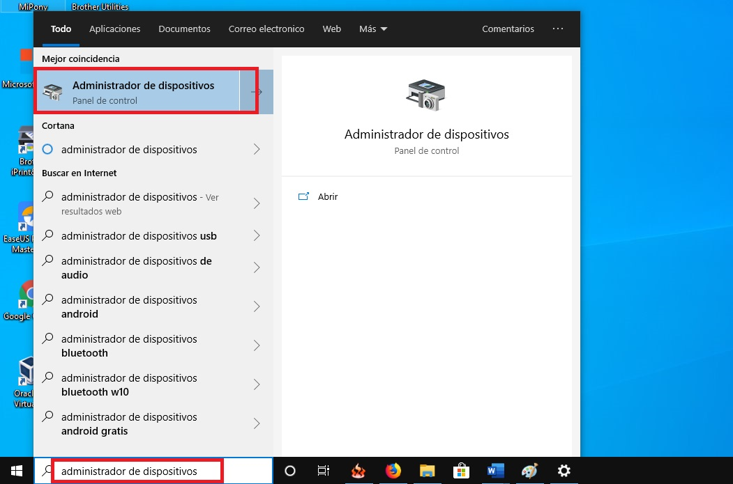 Como activar el Bluetooth en Windows 10 10
