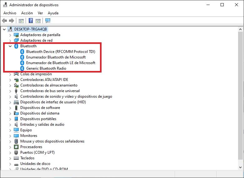 Como activar el Bluetooth en Windows 10 11