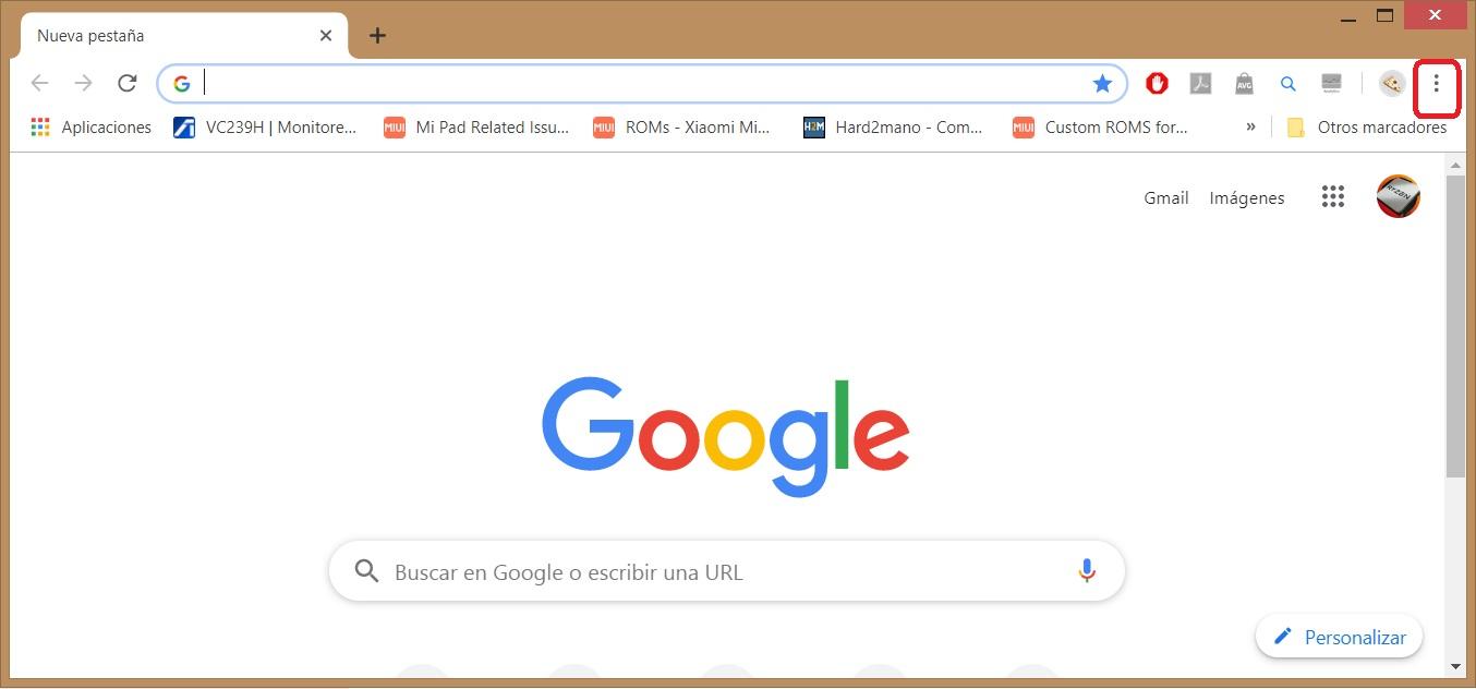 Cómo activar las extensiones en el modo incógnito de Chrome 1
