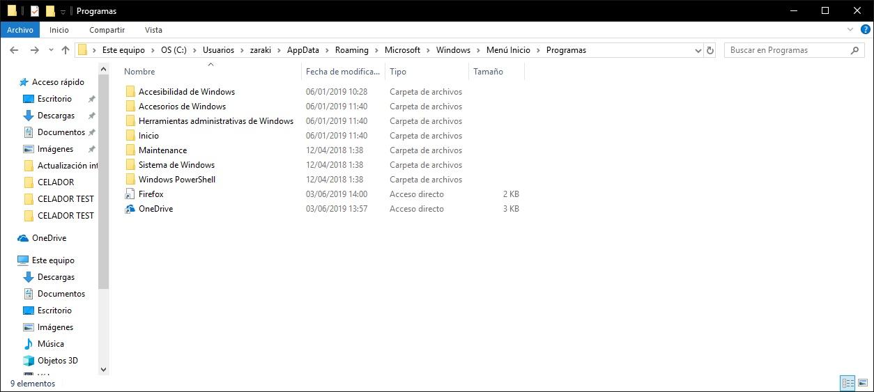 Cómo añadir un acceso directo al menú de inicio de Windows 1