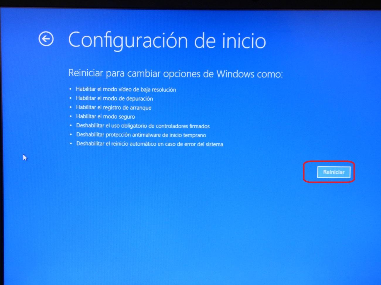 Como iniciar Windows 10 en modo seguro y para que sirve 4