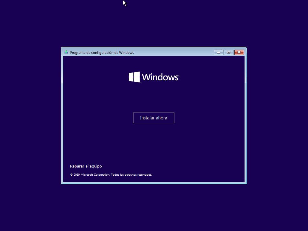 Como instalar Windows 10 paso a paso 3