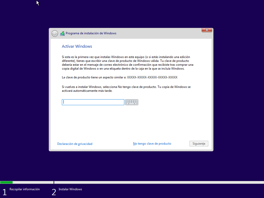 Como instalar Windows 10 paso a paso 5