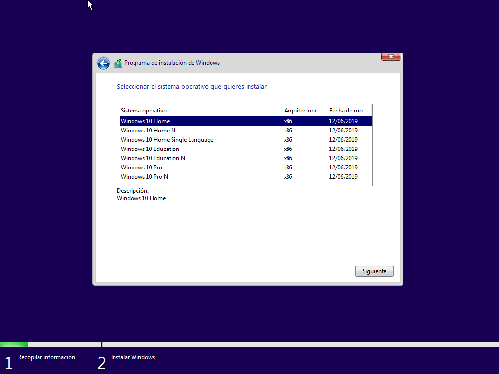 Como instalar Windows 10 paso a paso 6