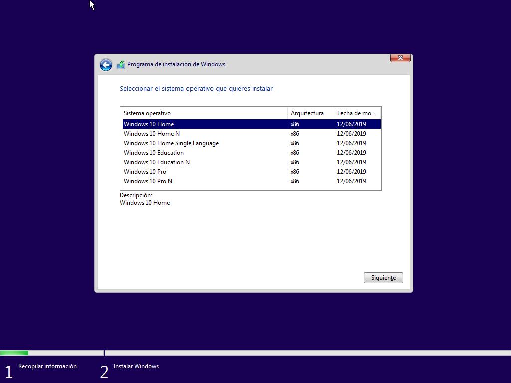 Como instalar Windows 10 paso a paso 6
