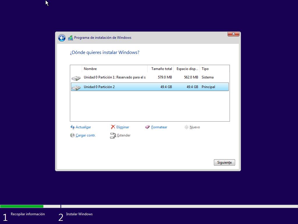 Como instalar Windows 10 paso a paso 9