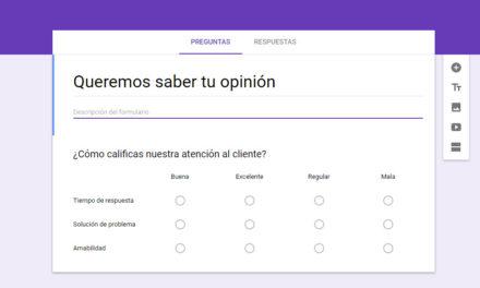 Cómo crear encuestas con Google Drive