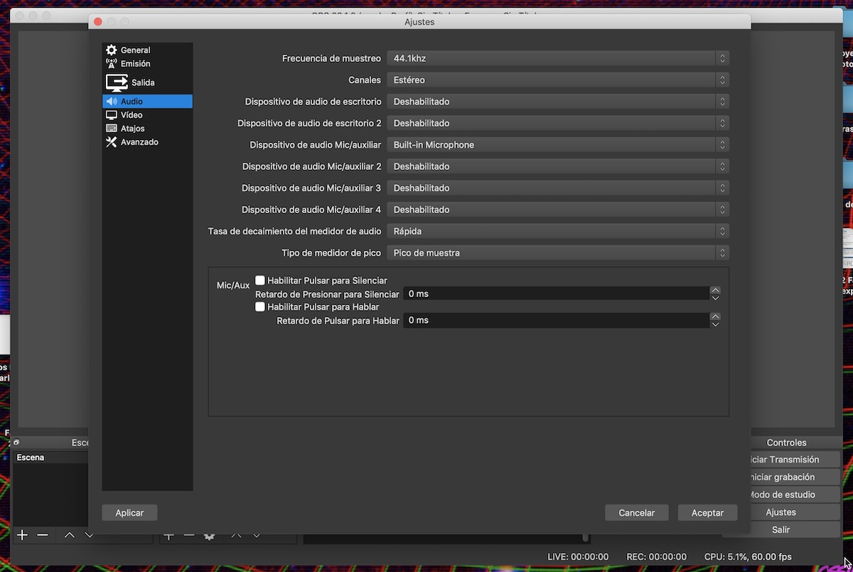 hacer streaming obs twitch 1