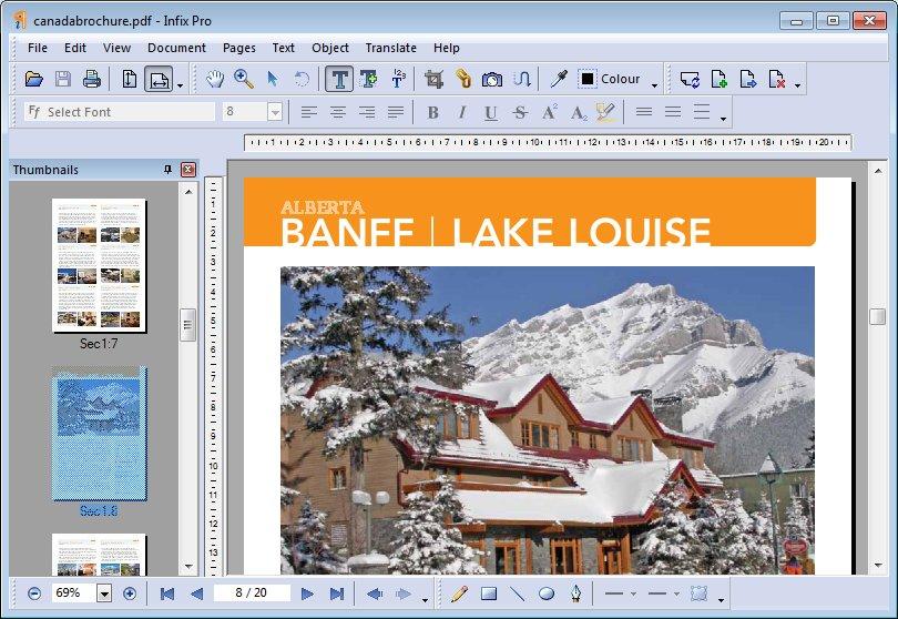 Infix PDF Editor 7