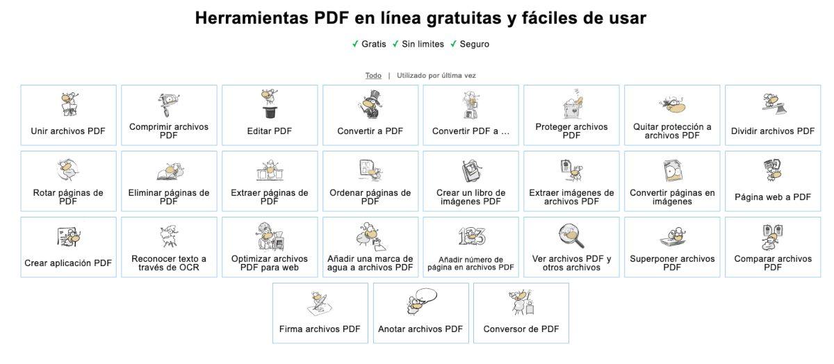 PDF24-TOOLS herramienta online