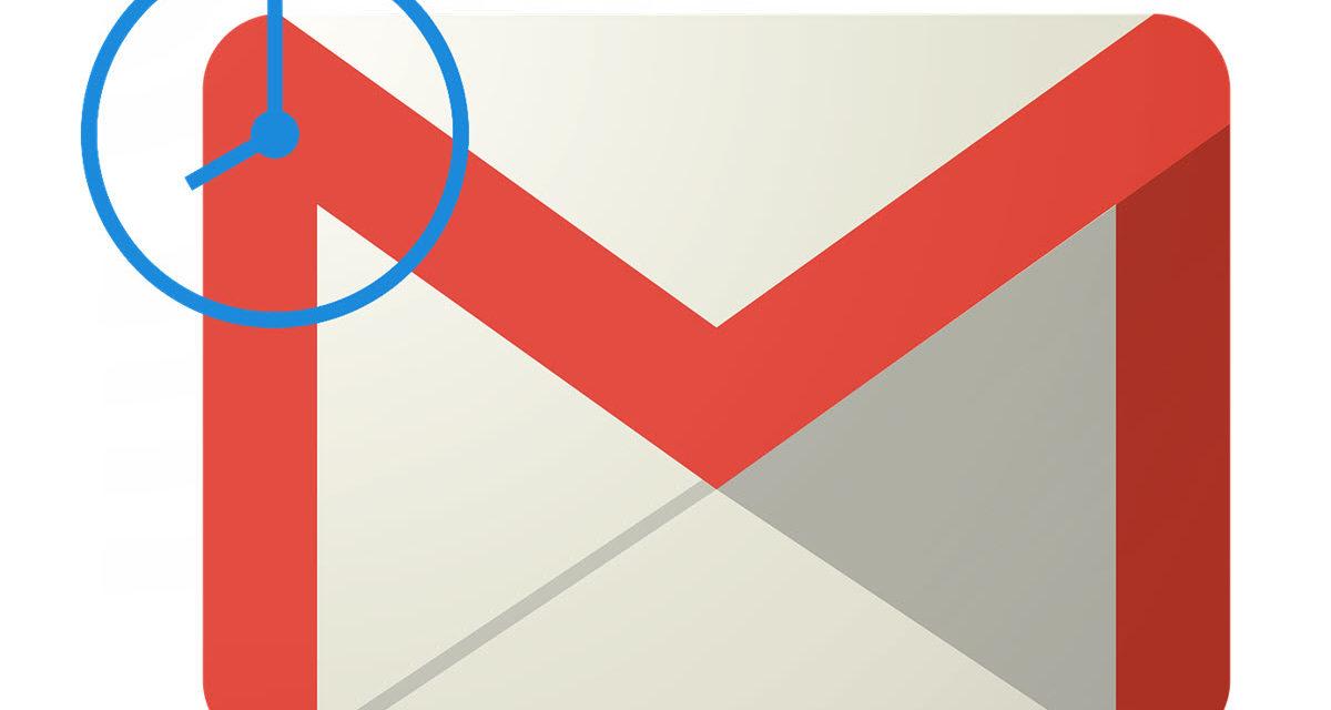 Cómo programar un correo en Gmail
