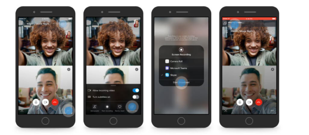 Skype iOS y Android